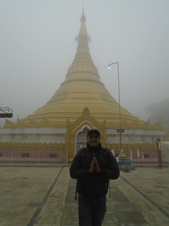 Templo de la estupa ofrecido por Myanmar (Birmania)