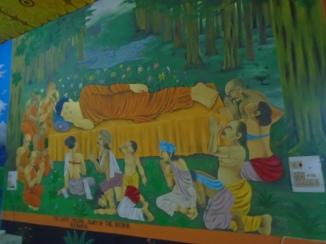 La muerte de Buda (mural)