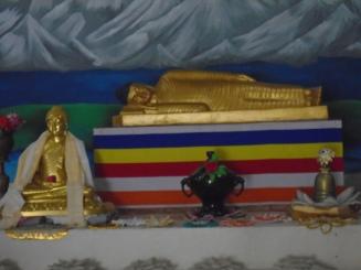 La muerte de Buda (estatua)
